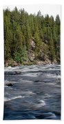 Yellowstone River Bath Towel
