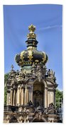 Zwinger Palace Crown Gate Bath Towel