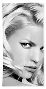 # 3 Jessica Simpson Portrait Bath Towel
