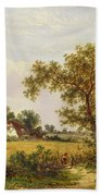 Essex Landscape  Bath Towel