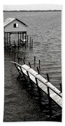 Indian River Pier Hand Towel