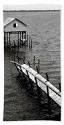 Indian River Pier Bath Towel