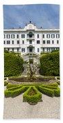 Lake Como,villa Carlotta, Italy Bath Towel