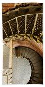 Lighthouse Stairs Cape Blanco Oregon 1 Bath Towel