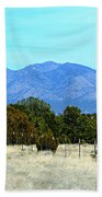 New Mexico Mountains Bath Towel