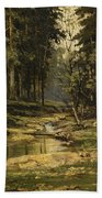 The Forest Brook Bath Towel