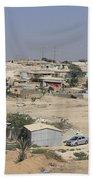 Unrecognized, Beduin Shanty Township  Bath Towel