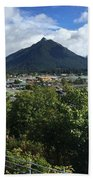 View From Top Of Castle Hill Sitka Alaska 2015 Bath Towel