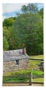 Village Blacksmith Shop Bath Towel