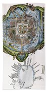 Tenochtitlan (mexico City) Bath Towel
