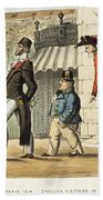 Paris Occupation, 1814 Bath Towel