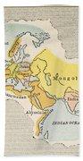 World Map, C1300 Bath Towel