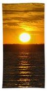 014 Sunset 16mar16 Bath Towel