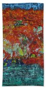 057 Abstract Thought Bath Towel