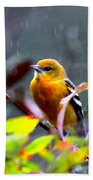 0651 - Baltimore Oriole Bath Towel