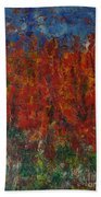073 Abstract Thought Bath Towel