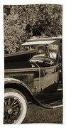 1924 Buick Duchess Antique Vintage Photograph Fine Art Prints 10 Bath Towel