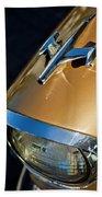 1957 Oldsmobile Super 88 Hood Ornament Bath Towel
