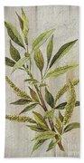3d Wild Flower Painting Bath Towel