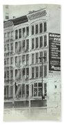 4th St Buildings Hand Towel