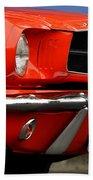 66 Mustang Fastback Bath Towel