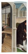 A Miracle Of Saint Benedict Bath Towel