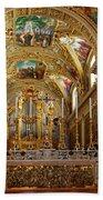 Abbey Of Montecassino Altar Bath Towel
