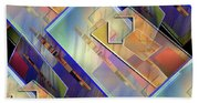 Abstract  145 Bath Towel