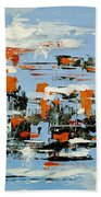 Abstract Art Project #25 Bath Towel