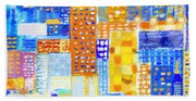 Abstract City Hand Towel