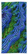 Abstract Fractal Landscape Bath Towel