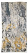 Abstract Texture Old Plaster Bath Towel