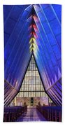 Air Force Academy Cadet Chapel Bath Towel