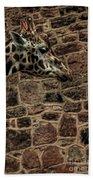 Amazing Optical Illusion - Can You Find The Giraffe Bath Towel