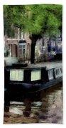 Amsterdam Canals Bath Towel