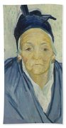 An Old Woman Of Arles Arles, February 1888 Vincent Van Gogh 1853 - 1890 Bath Towel