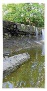 Anderson, Falls, Indiana Bath Towel
