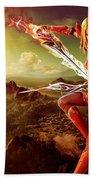 Angel Warrior Hand Towel