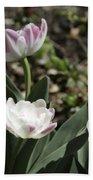 Angelique Peony Tulips Bath Towel