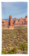 Arches National Park  Moab  Utah  Usa Bath Towel