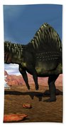 Arizonasaurus Dinosaur - 3d Render Bath Towel