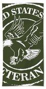 Army Veteran Bath Towel