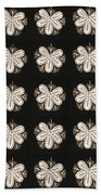 Artistic Sparkle Floral Black And White Graphic Art Very Elegant One Of A Kind Work That Will Show G Bath Towel