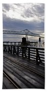 Astoria-megler Bridge 4 Bath Towel