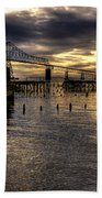 Astoria-megler Bridge 5 Bath Towel
