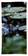 At Claude Monet's Water Garden 6 Bath Towel
