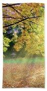 Autumn Morning Bath Towel