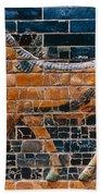 Babylon: Ishtar Gate 600 B.c Bath Towel