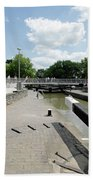 Bancroft Basin - Canal Lock Bath Towel