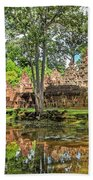 Banteay Srei Temple - Cambodia Bath Towel